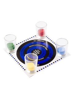 Trinkspiel Party-Gadget JGA 33-teilig bunt 15x15cm