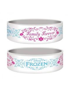 Frozen™-Armband Disney™ weiss-blau-pink 5,5x2,5cm