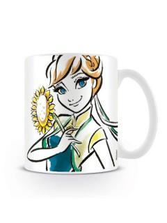 Frozen Tasse Disney-Fanartikel Motiv Anna weiss-bunt 330ml
