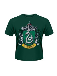 Offizielles Slytherin-T-Shirt Harry Potter-Fanshirt grün