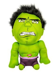 Hulk™-Stoffpuppe Marvel™ grün-violett 20cm