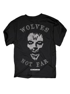 The Walking Dead™-T-Shirt Wolves not far schwarz-grau