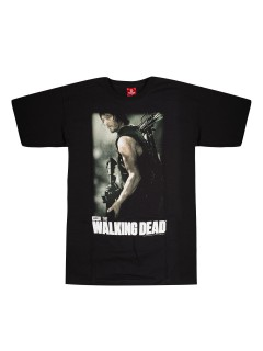Daryl Dixon™-T-Shirt The Walking Dead Lizenzprodukt schwarz-bunt