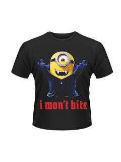 Minions T-Shirt Vampir Minion Lizenzware schwarz-bunt