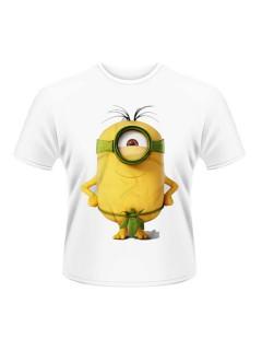 Minions™ T-Shirt Dschungel weiss-gelb