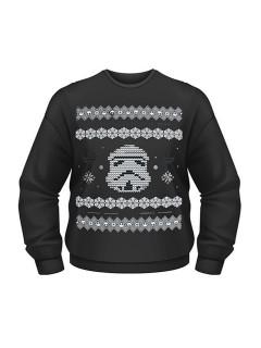 Stormtrooper™-Pullover Star Wars™-Fanartikel schwarz