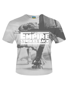 Star Wars™-T-Shirt The Empire strikes back™-Lizenzware grau