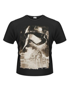 Captain Phasma™-T-Shirt Star Wars™ schwarz-grau