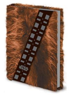 Star Wars Notizblock Chewbacca A5 braun schwarz