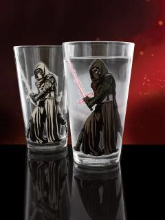 Kylo Ren™-Glas mit Farbwechsel Star Wars™ bunt 500ml