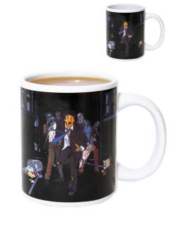 Zombie Tasse Kaffeetasse mit Farbwechsel bunt 300ml
