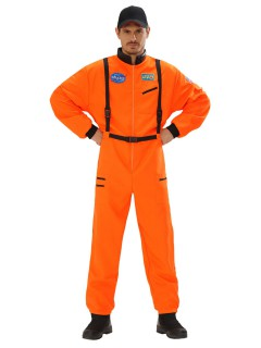 Astronaut Kostüm Raumfahrer orange