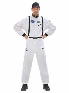 Astronaut XL Kostüm Raumfahrer weiss-schwarz