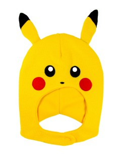 Pikachu™-Mütze Pokémon Accessoire gelb-schwarz