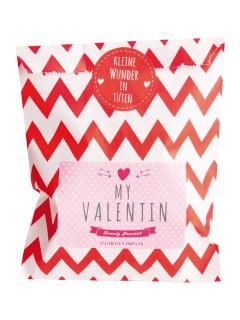 Wundertüte My Valentin Valentinstag-Geschenk rot-rosa-weiss 13 x 16 cm