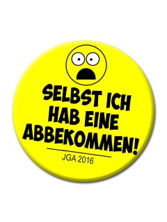 JGA-Party Button Selbst ich hab
