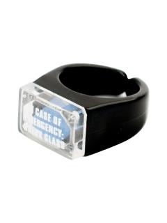 Notfall Potenzpillen-Ring Scherzartikel Party-Gadget schwarz-blau