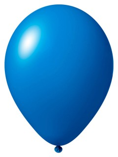 Luftballon-Set 12 Stück Ballons Party-Deko mittelblau 33cm