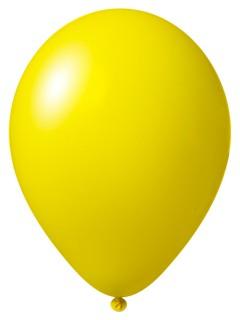 Luftballon-Set 12 Stück Ballons Party-Deko gelb 33cm