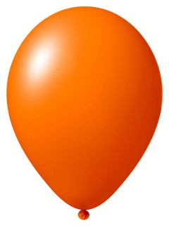 Luftballon-Set 24 Stück Ballons Party-Deko orange 33cm