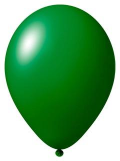 Luftballon-Set 12 Stück Ballons Party-Deko dunkelgrün 33cm