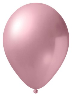 Metallic Luftballon-Set 24 Stück Ballons Party-Deko rosa 33cm