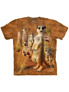 The Mountain T-Shirt Meerkat Pack Lizenzware hellbraun-beige