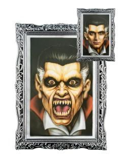 Halloween Portrait Herr Party-Deko bunt 28x20cm