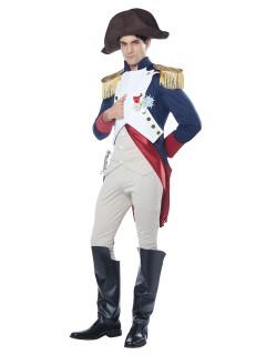 Napoleon Kostüm Französischer Kaiser blau-weiss-rot