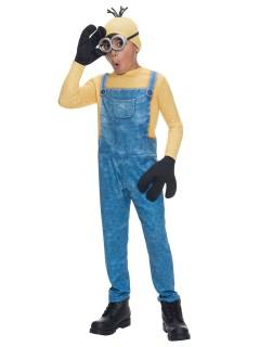 Minions Kevin Kinderkostüm Lizenzware gelb-blau