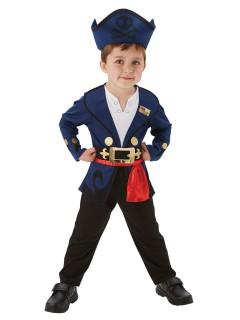 Jake und die Nimmerlandpiraten Kostüm für Kleinkinder Lizenzware bunt