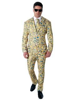 Minions Anzug Kostüm Lizenzware gelb-blau
