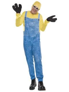 Minions Bob Kostüm Lizenzware gelb-blau