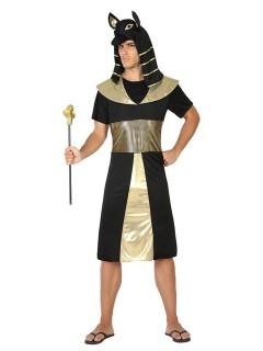 ägyptischer König Kostüm Pharao schwarz-gold