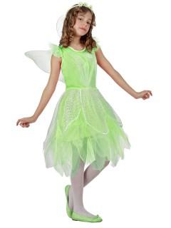 Bezaubernde Fee Kinderkostüm Elfe grün