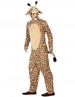 Giraffe Kostüm Jumpsuit Tierkostüm braun-beige