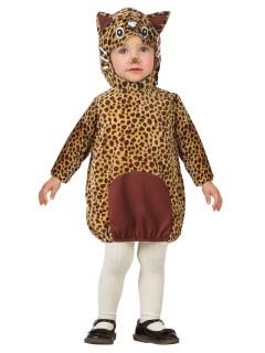 Kleiner Leopard Babykostüm Raubkatze braun-beige