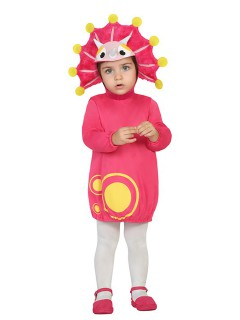 Kleiner Drache Babykostüm Dinosaurier pink