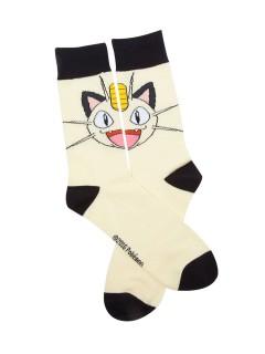 Pokémon™-Socken Mauzi beige-schwarz