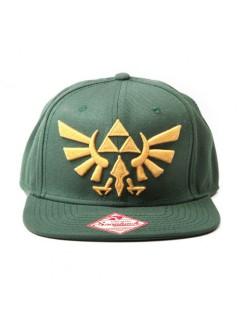 Zelda™-Basecap Lizenzartikel Accessoire grün-gelb