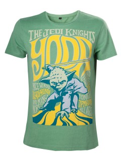 Yoda The Jedi Knights T-Shirt grün-gelb
