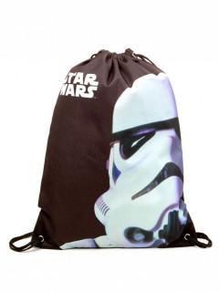 Stormtrooper-Turnbeutel Star Wars-Lizenzartikel braun-weiss