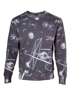 Star Wars™-Pullover T-Fighter grau-weiss