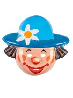 Clown-Maske Faschingsmaske bunt