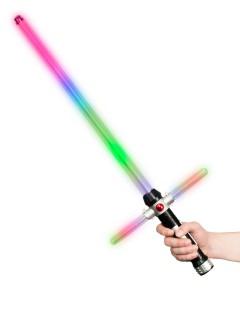 FX-Lichtschwert LED-Laserschwert mit Farbwechsel bunt 70x29cm