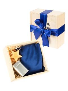 Weihnachtliches Geschenke-Set Entspannung 4-teilig bunt