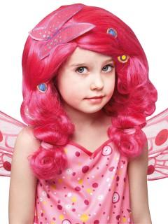 Mia and Me Schmetterlings-Perücke für Kinder Lizenzware pink