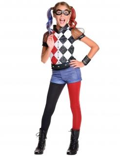 DC Super Hero Girls Harley Quinn Deluxe Kinderkostüm Lizenzware bunt