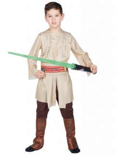 Star Wars Jedi Deluxe Kinderkostüm Lizenzware beige-braun