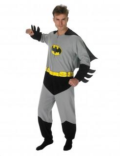 DC Batman Jumpsuit-Kostüm Lizenzware grau-schwarz-gelb